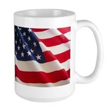 July 4th US Flag Mug