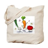 Happy Veggies Tote Bag