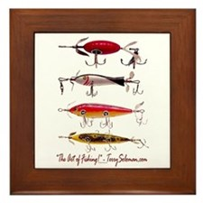 Fish, Fishing, Lure Framed Tile