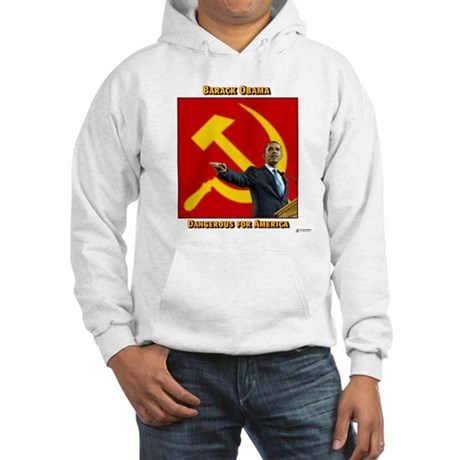 Dangerous Obama Hooded Sweatshirt