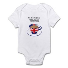All Frightfully British Infant Bodysuit
