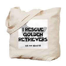 GOLDEN RETRIEVERS IN NEED Tote Bag