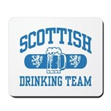 Scottish Drinking Team Mousepad