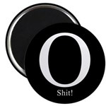 "O Shit! 2.25"" Magnet (10 pack)"