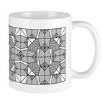 Gray Owls Design Mug
