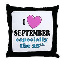 PH 9/28 Throw Pillow