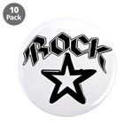 "Rock Star 3.5"" Button (10 pack)"