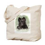 Long Coated German Shepherd Tote Bag