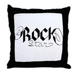 Rock Star part deux Throw Pillow