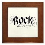 Rock Star part deux Framed Tile