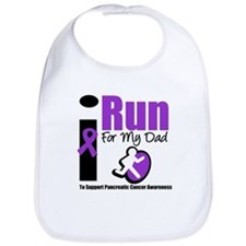 Purple Ribbon Hero Bib