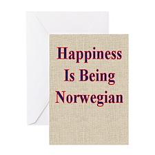 Norwegian Humorous Greeting Card