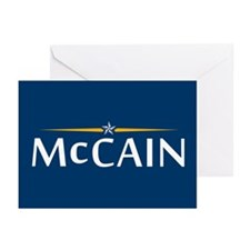McCain For President Greeting Cards (Pk of 20)