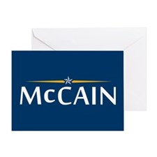 McCain For President Greeting Card