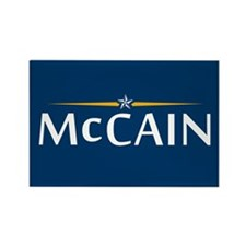 McCain For President Rectangle Magnet