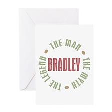 Bradley Man Myth Legend Greeting Card