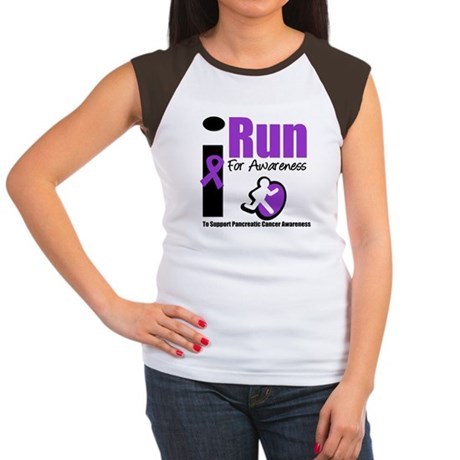 Purple Ribbon Hero Women's Cap Sleeve T-Shirt