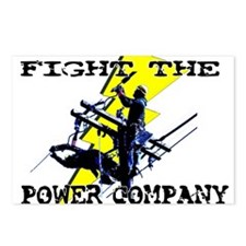 Fight The Power Company! Postcards (Package of 8)