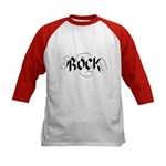 Guitar Rock Kids Baseball Jersey