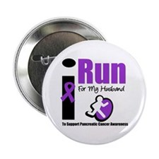 "Purple Ribbon Hero 2.25"" Button (10 pack)"