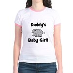 Daddy's Baby Girl Jr. Ringer T-Shirt