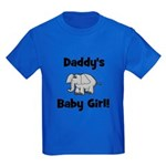 Daddy's Baby Girl Kids Dark T-Shirt