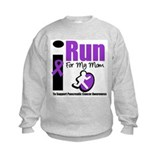 Purple Ribbon Hero Sweatshirt