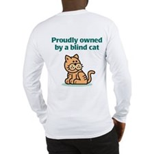 Proudly Owned (Cat) Long Sleeve T-Shirt