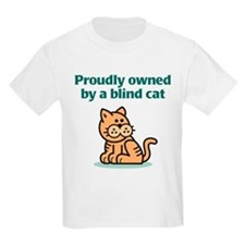 Proudly Owned (Cat) Kids T-Shirt