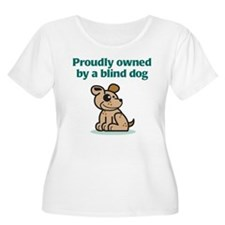 Proudly Owned (Dog) Women's Plus Size T-Shirt