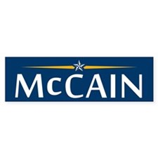 McCain For President Bumper Bumper Sticker
