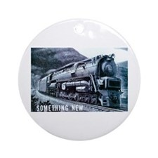 Baldwin S-2 Steam Locomotive Keepsake (Round)