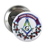 Masonic Holiday Button