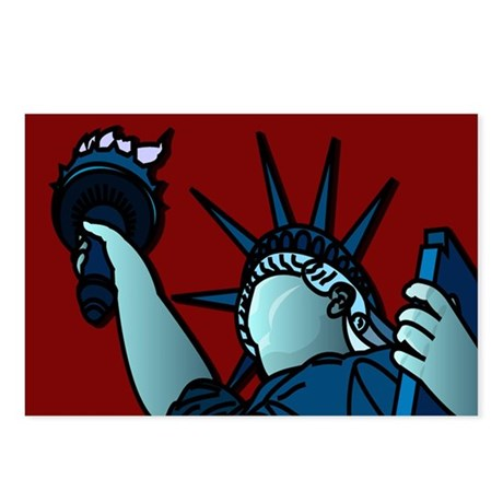 American Liberty Postcards (Package of 8)