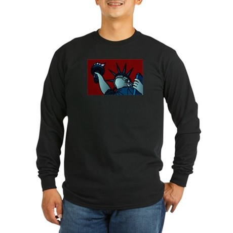 American Liberty Long Sleeve Dark T-Shirt