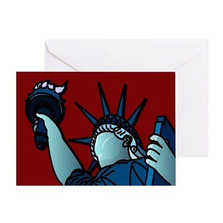 American Liberty Greeting Card