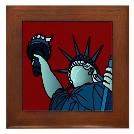 American Liberty Framed Tile
