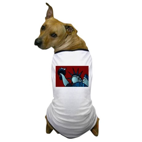 American Liberty Dog T-Shirt