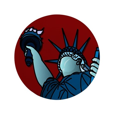 "American Liberty 3.5"" Button"