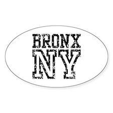 Bronx NY Oval Decal