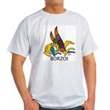 Winged Borzoi T-Shirt