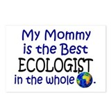 Best Ecologist In The World (Mommy) Postcards (Pac