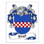 Boyd Family Crest Small Poster