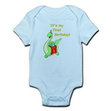 Wyatt's 1st Birthday Infant Bodysuit