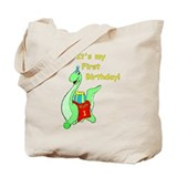 Wyatt's 1st Birthday Tote Bag