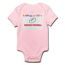 FANTASY FOOTBALL Infant Creeper