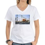 The Blimp Women's V-Neck T-Shirt