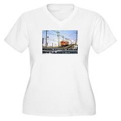 The Blimp Women's Plus Size V-Neck T-Shirt