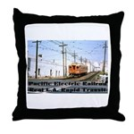 The Blimp Throw Pillow