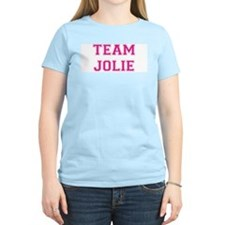 Team Jolie Women's Pink T-Shirt